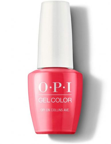 The high-gloss OPI GelColor nail colors cure in 30 seconds under an LED light and last for weeks.  S